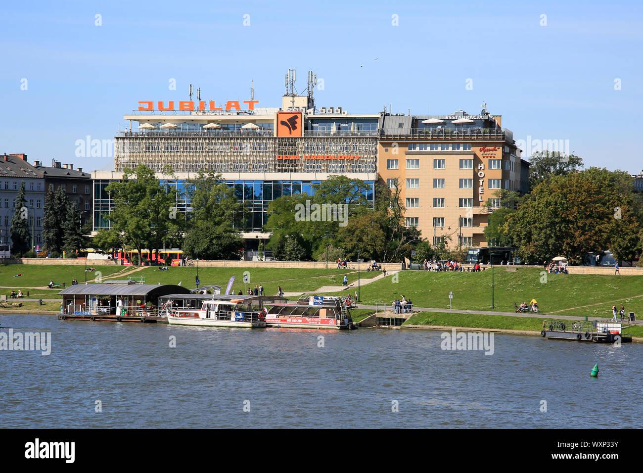 Jubilat Hotel Krakow Poland Stock Photo 274621983 Alamy