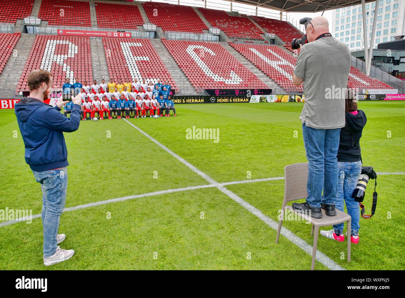 https www alamy com utrecht 17 09 2019 photocall fc utrecht stadion galgenwaard season 2019 2020 dutch eredivisie football club photographer frank zilver r image274636493 html