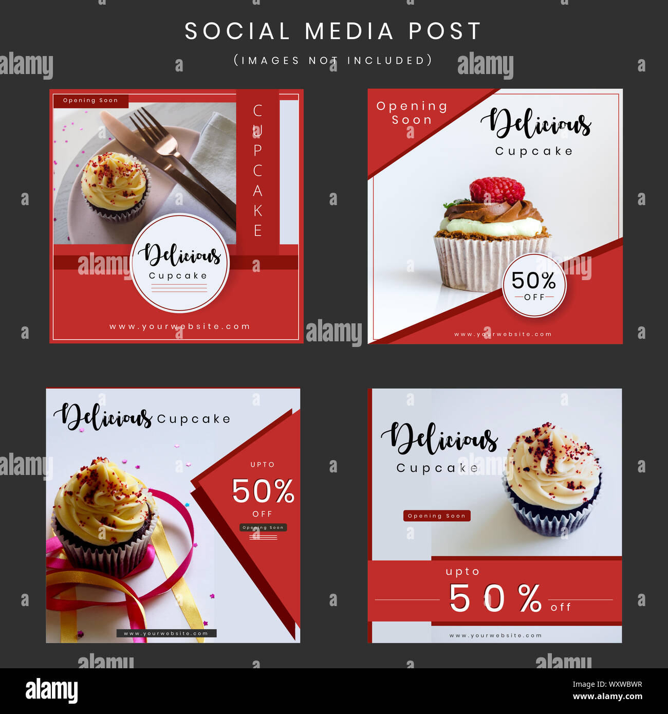 https www alamy com special offer sale social media poster design vector illustration image274694723 html