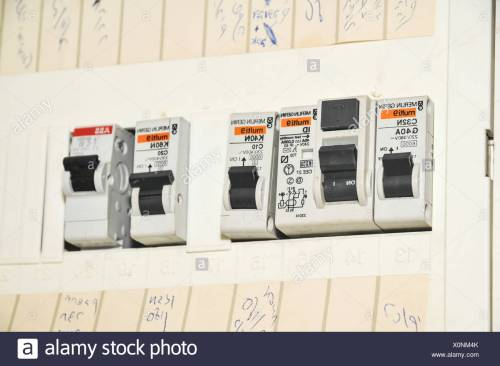 small resolution of domestic fuse box close up stock image