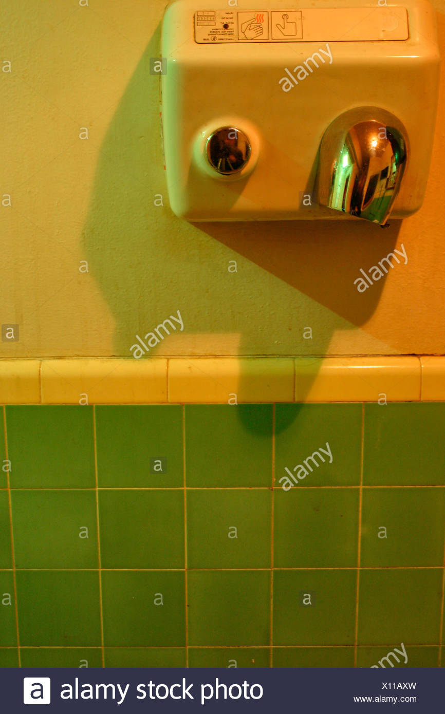 Bathroom Hand Dryer Stock Photos  Bathroom Hand Dryer