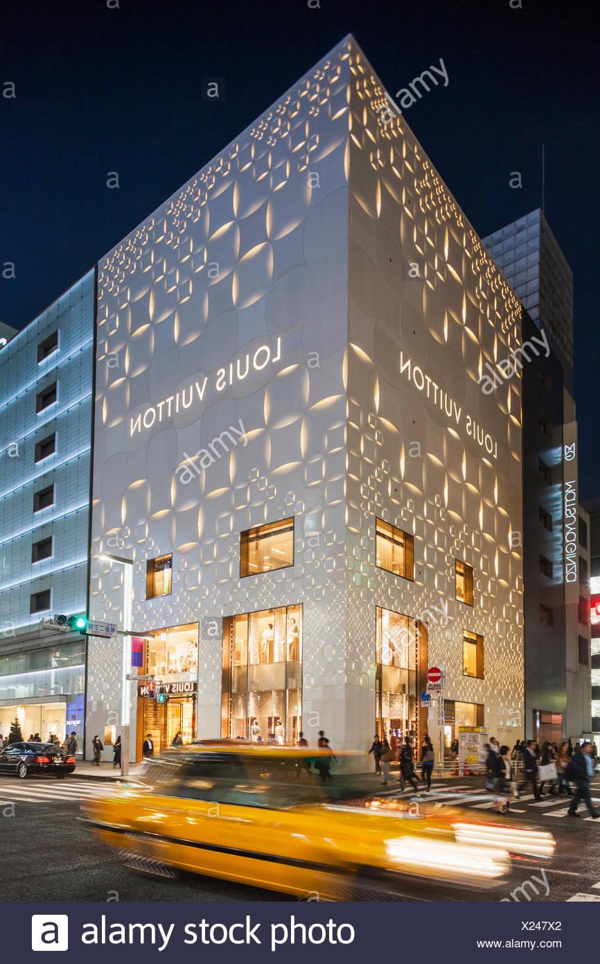 Japan, Honshu, Kanto, Tokyo, Ginza, Louis Vuitton Store Stock Photo: 276689226 - Alamy