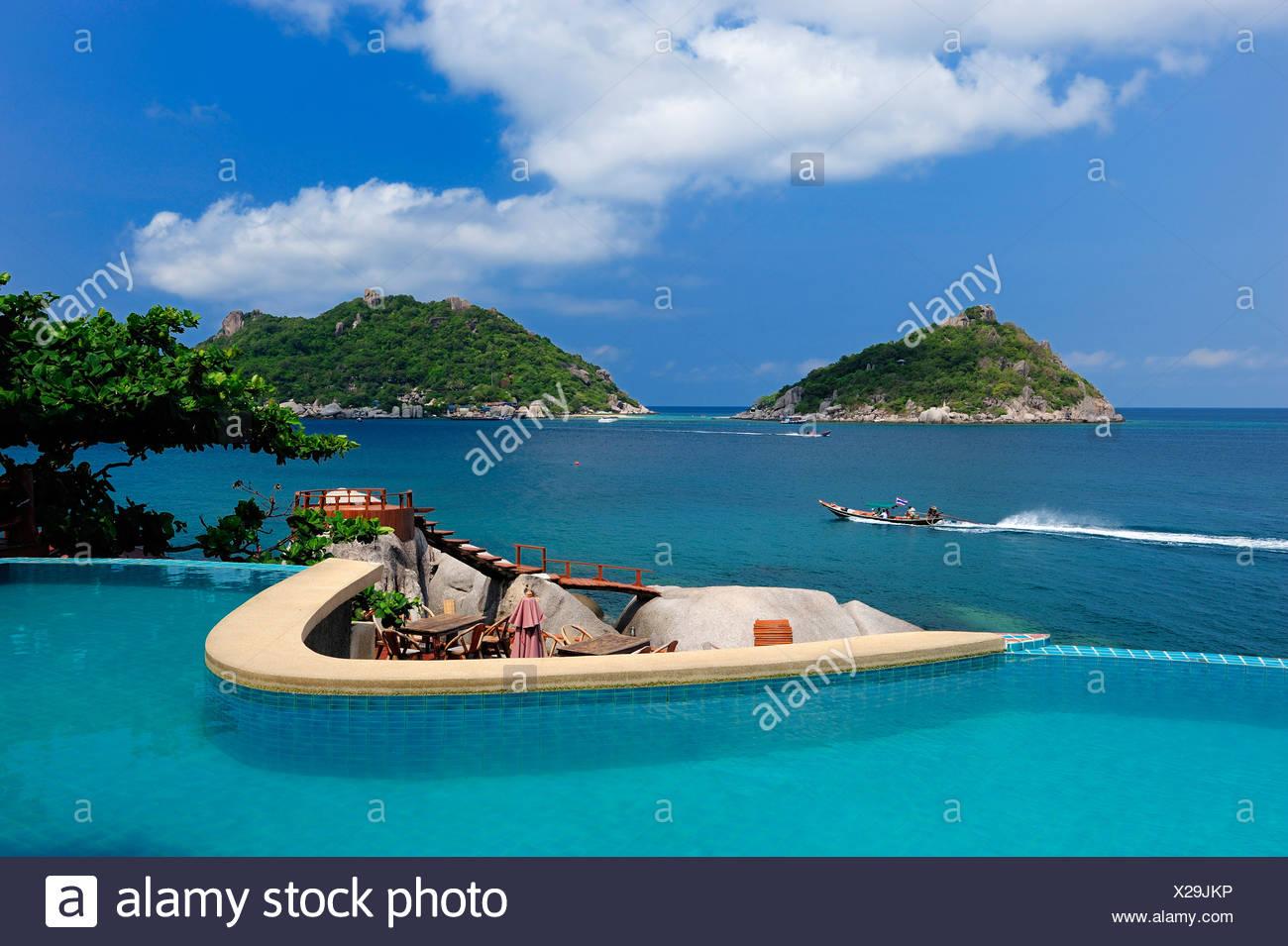 Pool Dusit Buncha Resort Nang Yuan Island Koh Tao