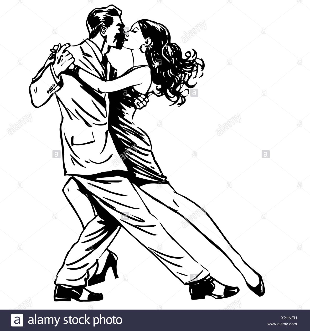 2 way kiss line dance 2003 dodge ram ignition wiring diagram couple silhouette dancing waltz stock photos and