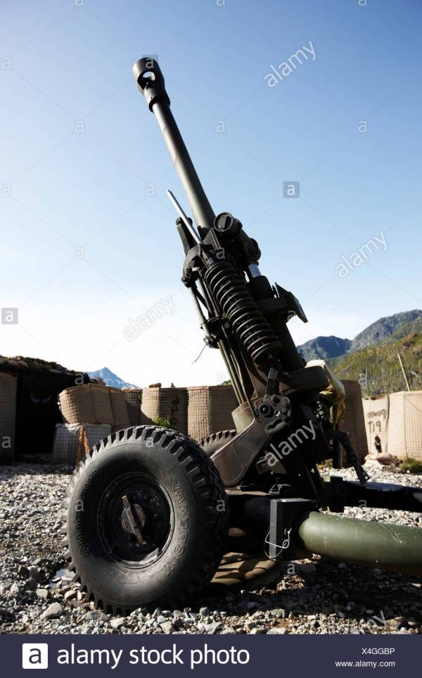 M119 Howitzer Stock - Year of Clean Water