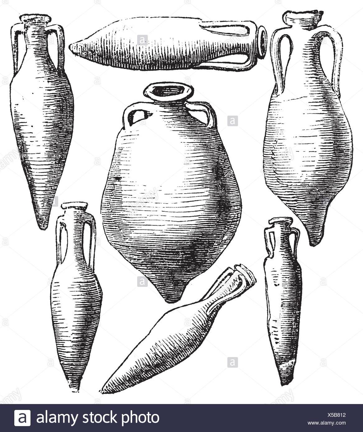 greek and roman amphora