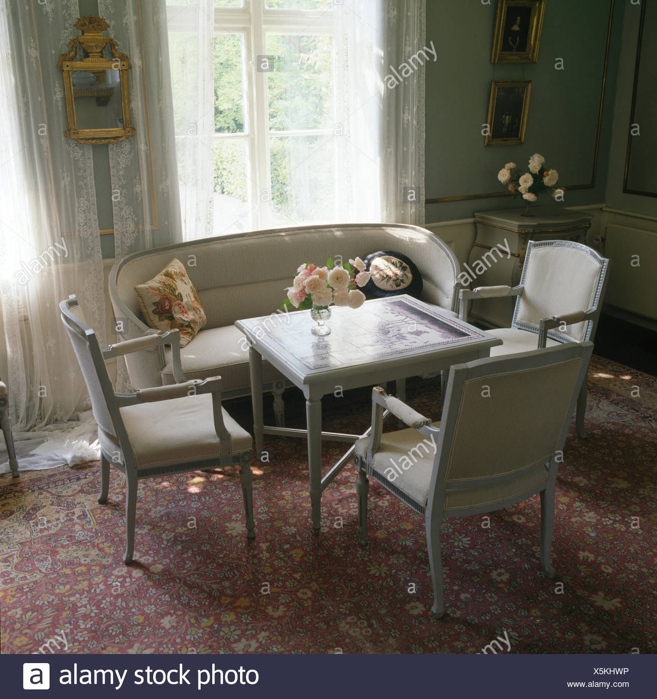 grey painted chairs value city furniture dining room and small table in swedish stock