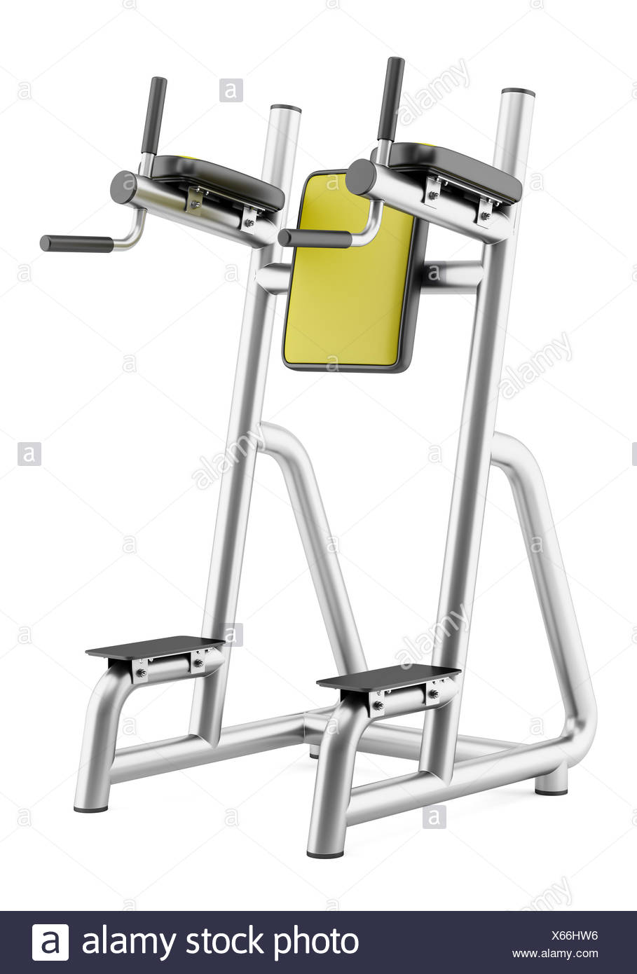 Roman Chair Gym Roman Chair Isolated On White Background Stock Photo