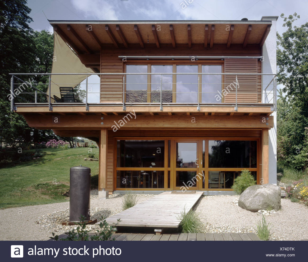residential house outside flat