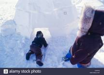 Eskimo Igloo Stock & - Alamy