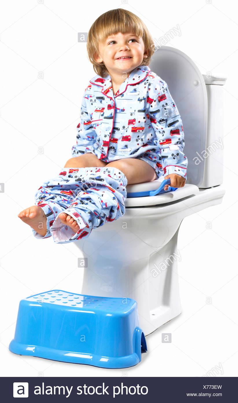 Toilet Seat For Child Stock Photos Amp Toilet Seat For Child