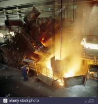 Steel foundry: 50-ton electric furnace. Basque Country ...