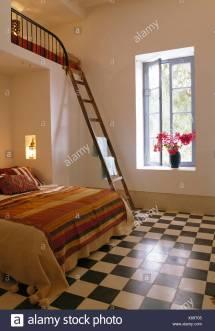 Mezzanine Bedroom Stock &
