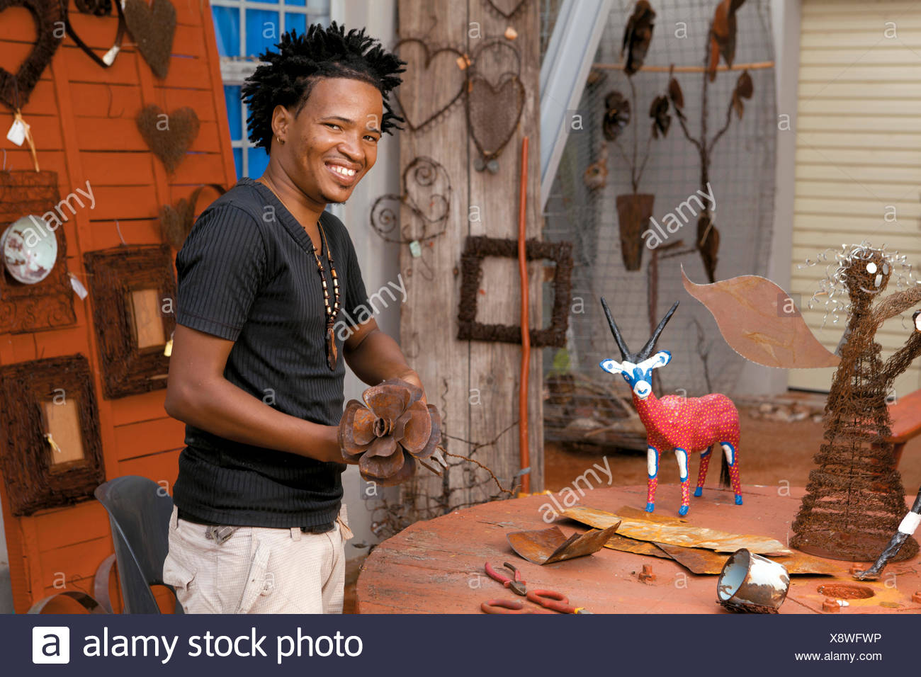Craft Artist Stock Photo Alamy