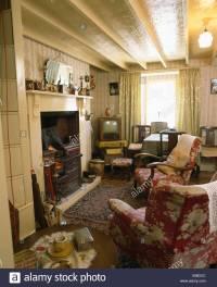 Interiors Traditional Livingroom Fireplace Stock Photos ...
