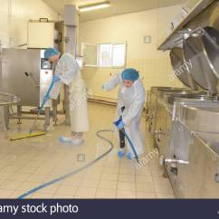 Industrial Kitchen Cleaning Services Lysol Cleaner Stock Photos Cleaners Floor Image
