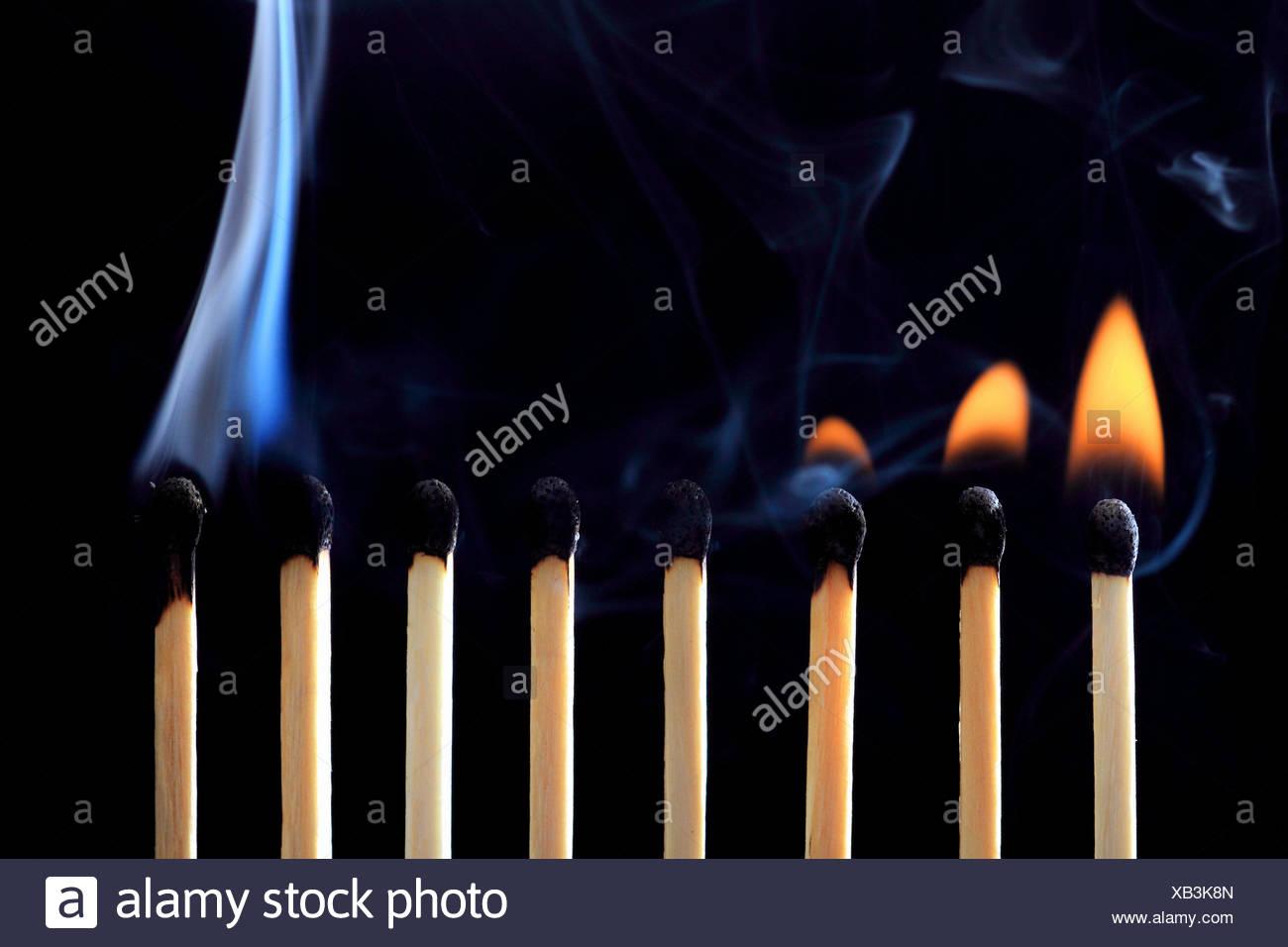 fire matches stock photos
