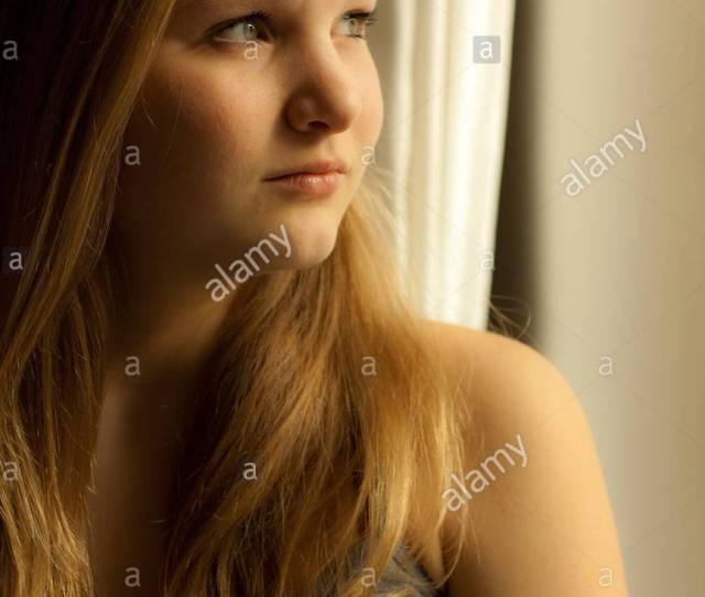 Woman Meditative Female Teen Dream Teenager Dreamy Girl Girls Woman