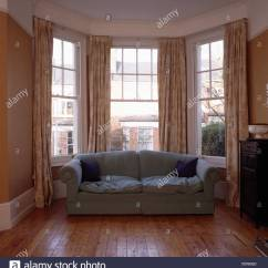 Bay Sofa Mid Century Modern Canada Grey In Front Of Window Eighties Living Room Before Renovation