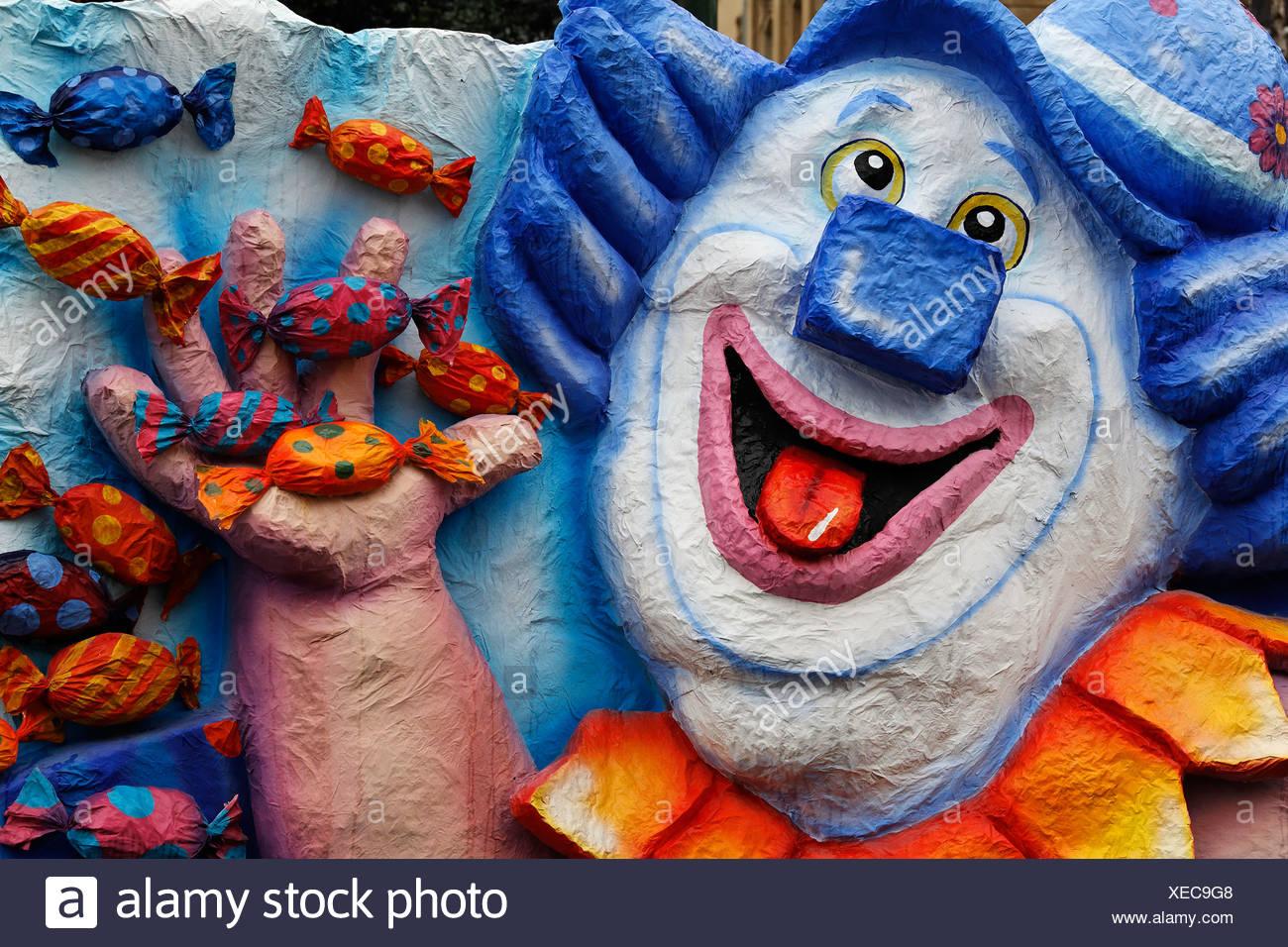 candy clown stock photos