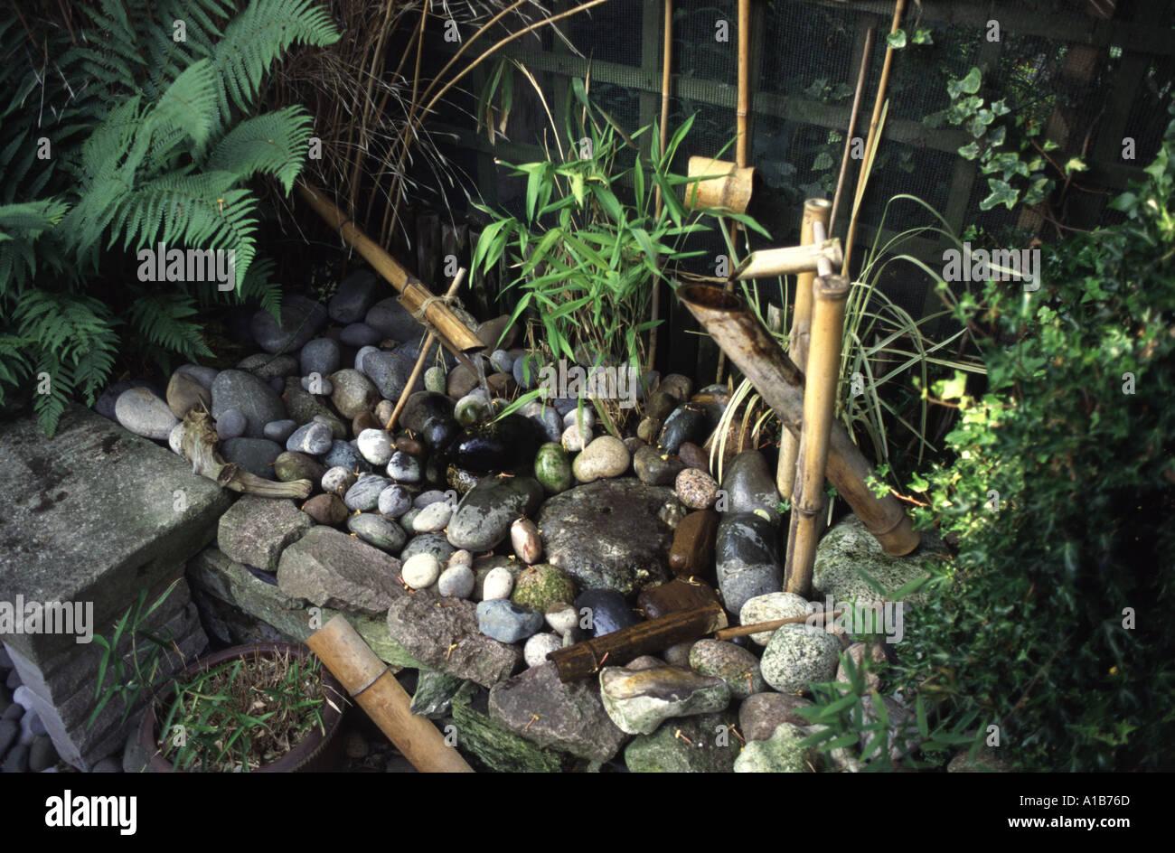 Japanisches Bambus Wasserspiel