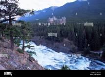 Canada Bow Falls Banff National Park