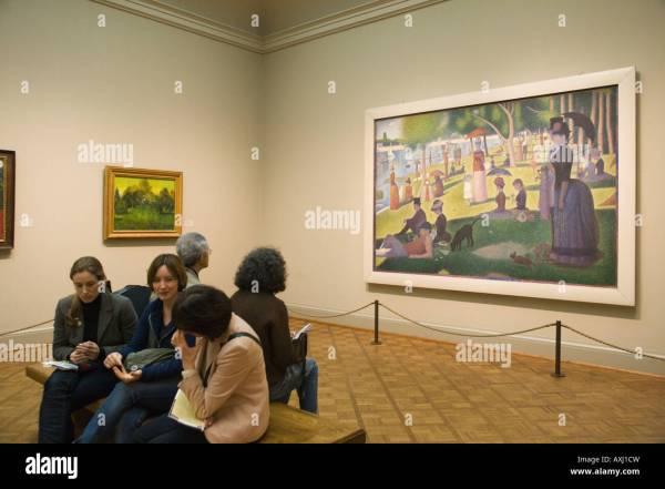 Seurat Art Institute Chicago