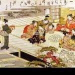 Bildende Kunst Japan Spiel Mit Schalen Kitagawa Utamaro 1753 1806 Farbige Holzschnitt Edo Zeit 1790 1791 Museum F R Osta Stockfotografie Alamy