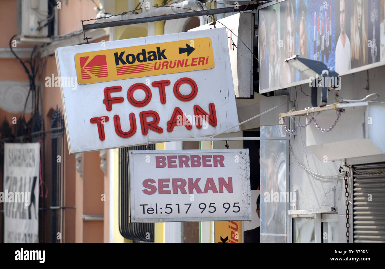 Turkish Signs Stockfotos  Turkish Signs Bilder  Alamy