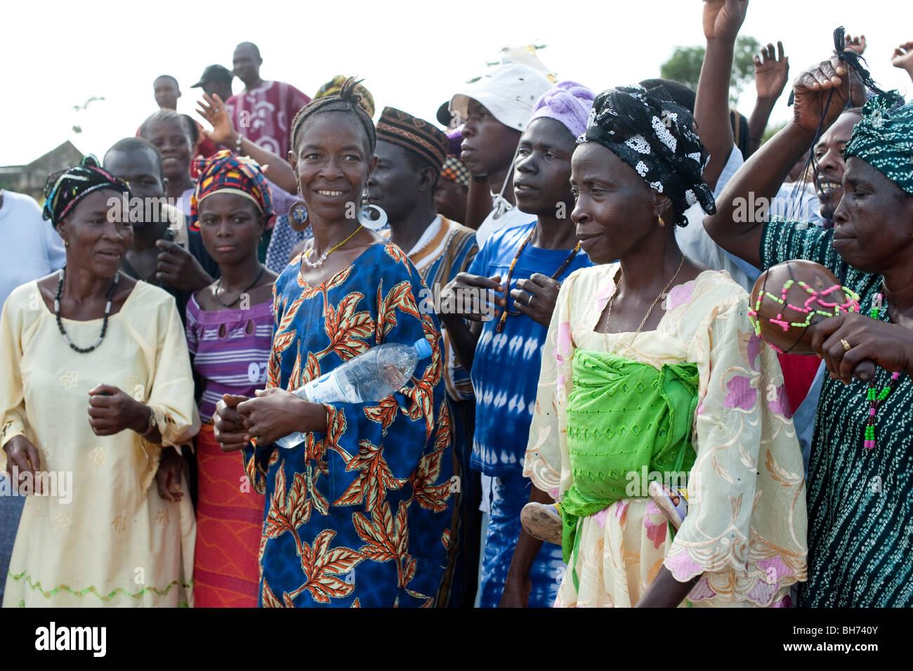 War Women Sierra Leone Stockfotos  War Women Sierra Leone