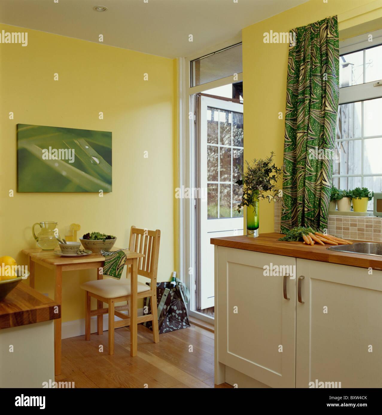 Kuche Gelbe Wand Kuchen Farben Ideen