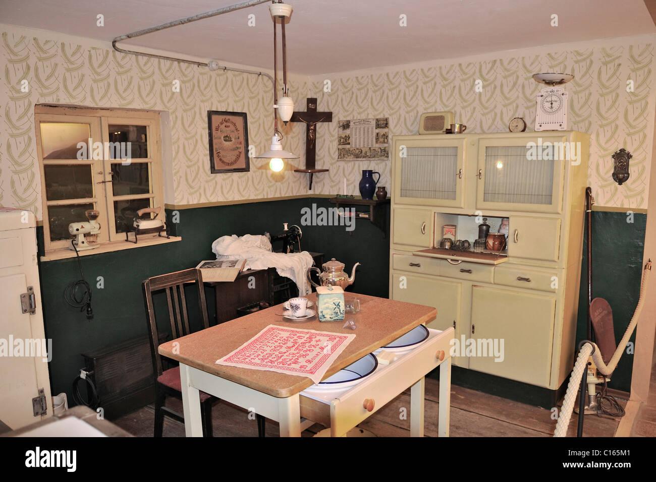 Küche 50er Stil