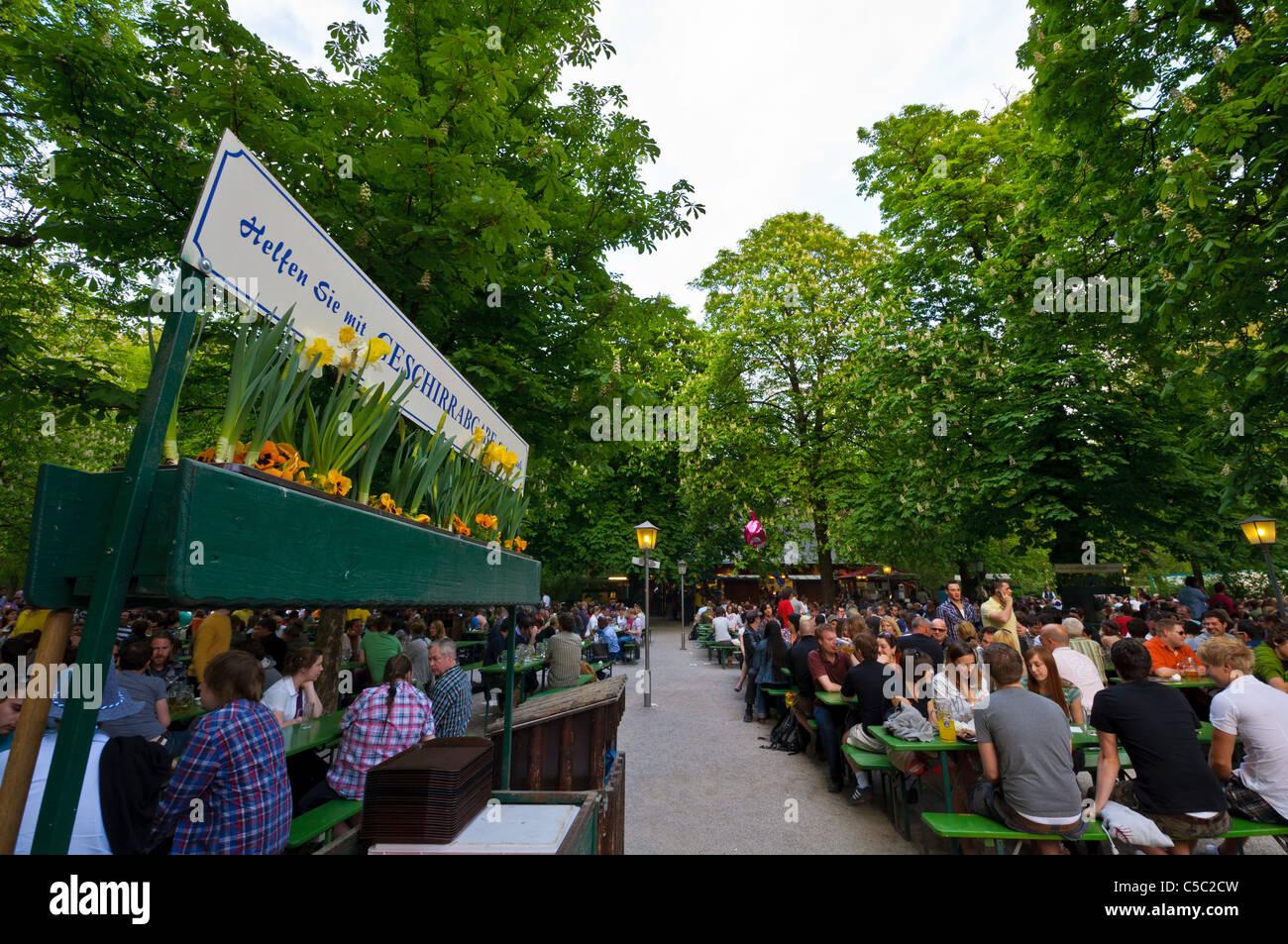 Englischer Garten Biergarten Meine Heimatbilder Galerie