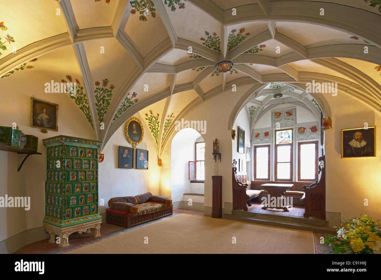 Burg Eltz Schloss in der Nhe von Wierschem Zimmer