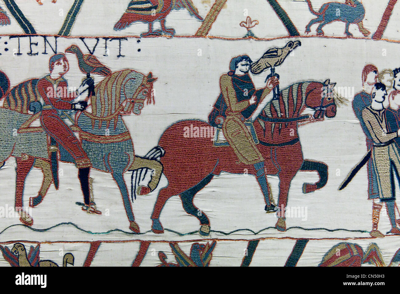 Teppich Von Bayeux Comic France Normandie Calvados Bayeux Bayeux Tapestry