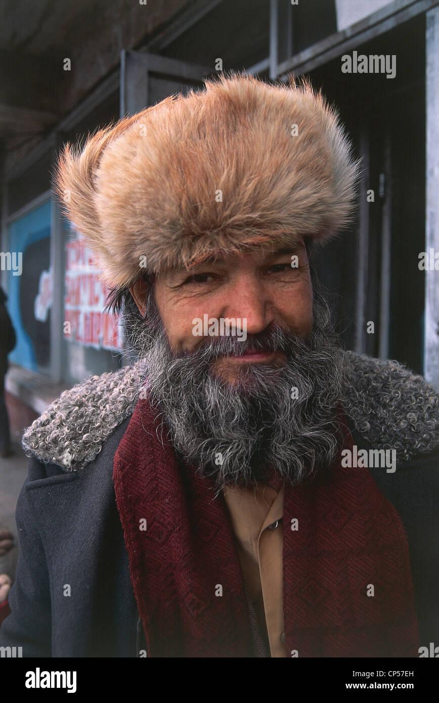 Russia Siberia Khabarovsk People Stockfotos  Russia