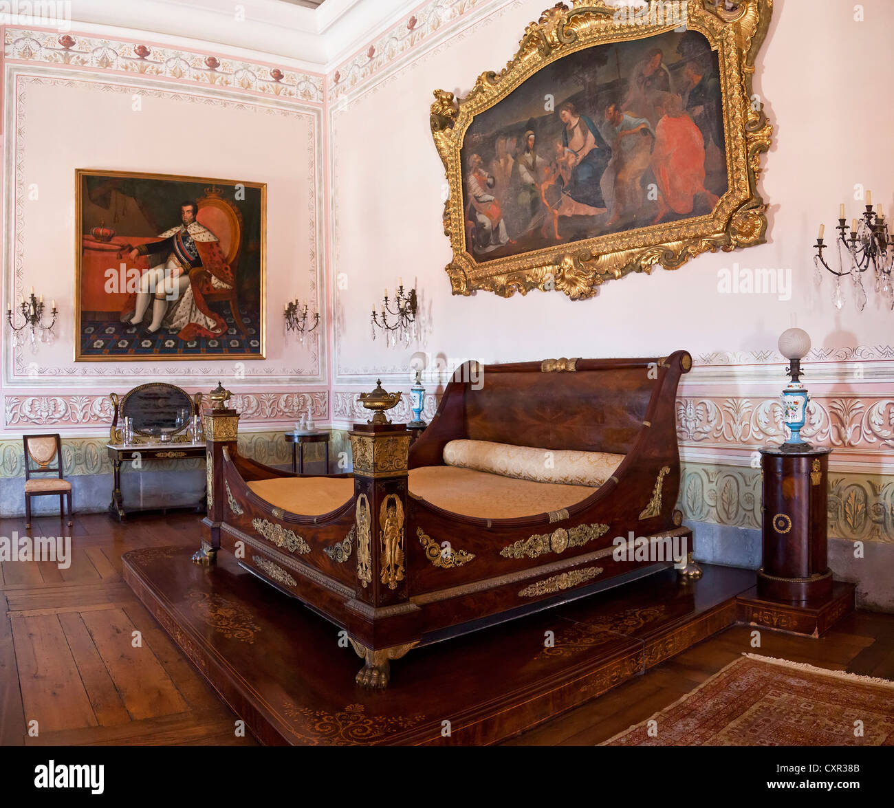 The Bedroom Of The King Stockfotos  The Bedroom Of The King Bilder  Alamy