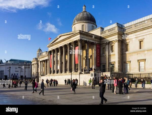 National London England Uk Stockfoto Bild