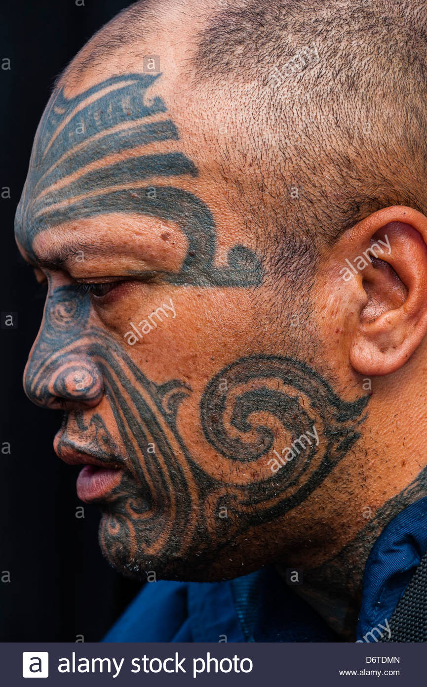 Maori Man Stockfotos  Maori Man Bilder  Alamy