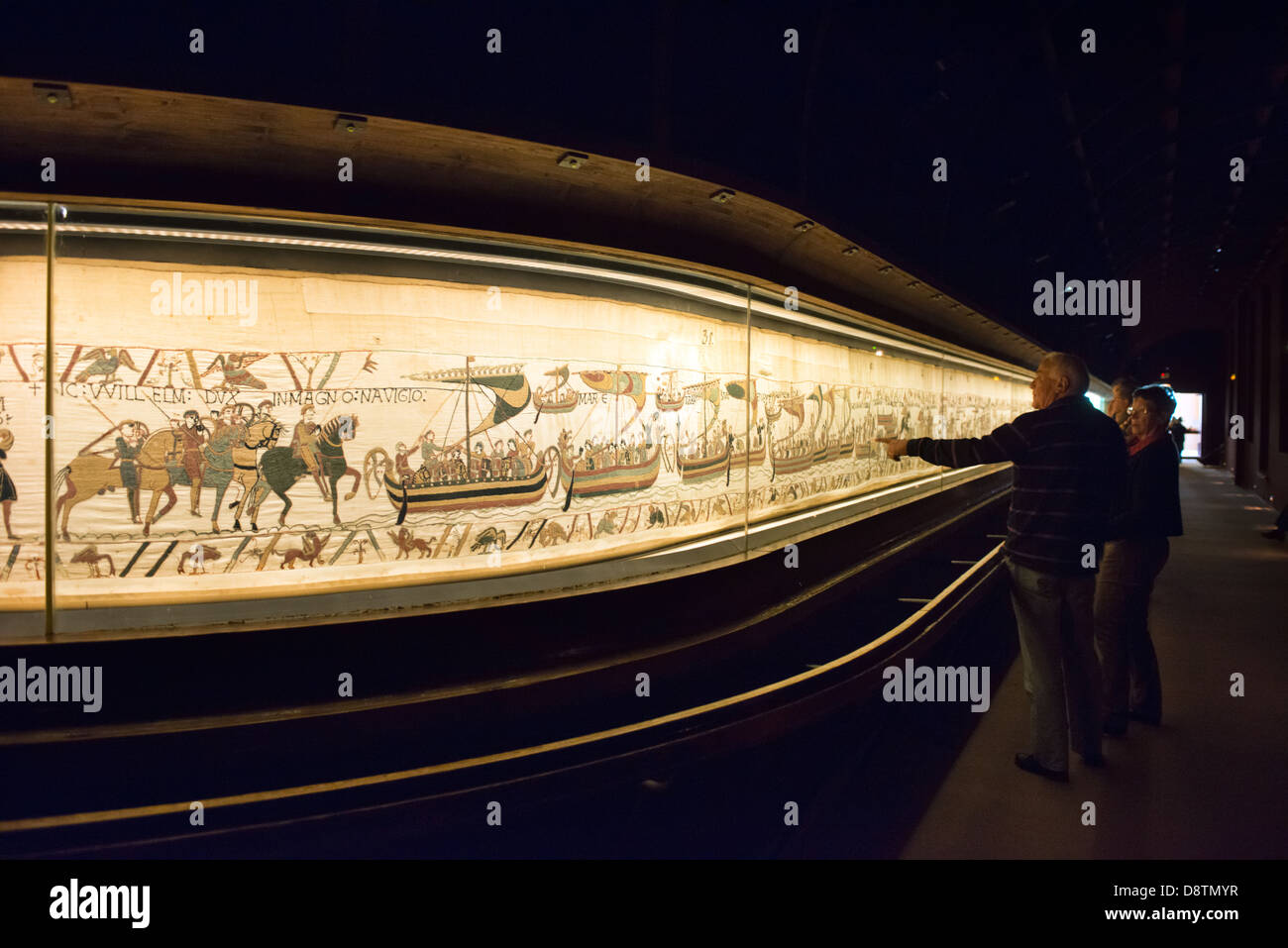 Teppich Von Bayeux Szenen The Bayeux Tapestry French Stockfotos And The Bayeux