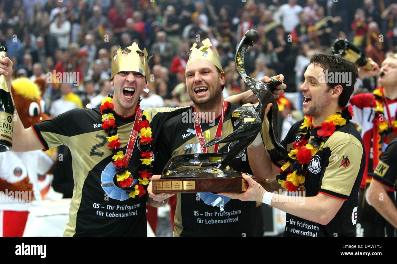 deutschen nationalen handball zeigen