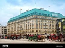 Hotel Adlon Kempinski Berlin Deutschland Stockfoto Bild