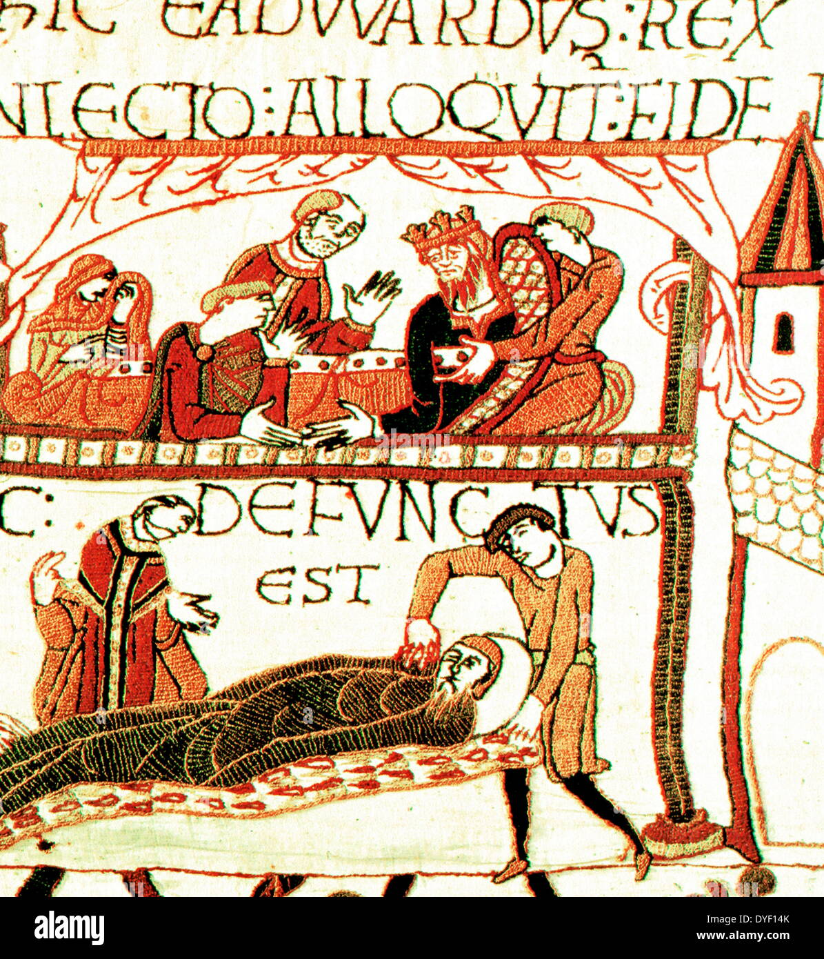 Teppich Von Bayeux Nach England Norman Conquest Of England Stockfotos And Norman Conquest Of