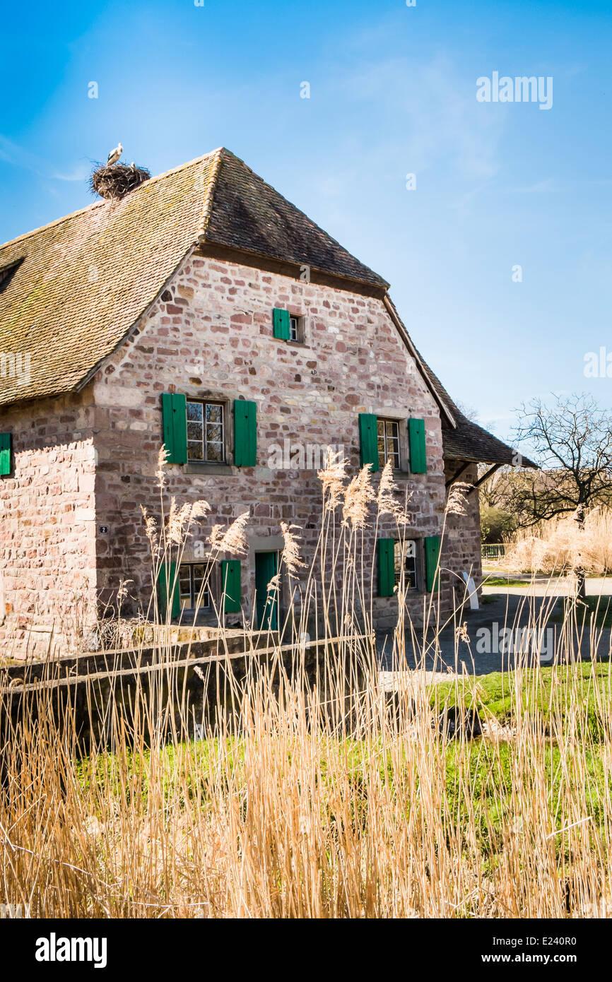 Haus Aus Holz Frankreich