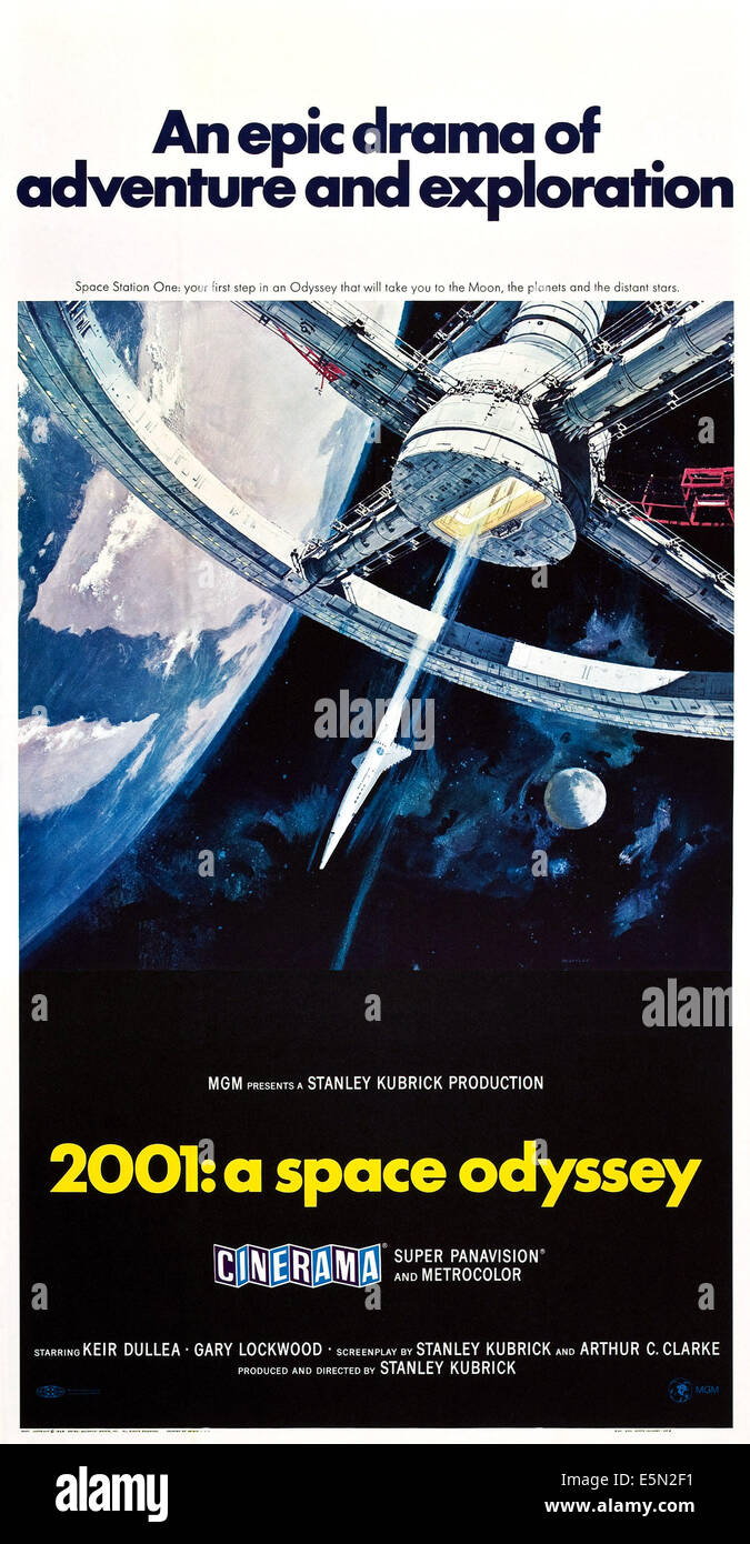 2001 space odyssey us poster 1968