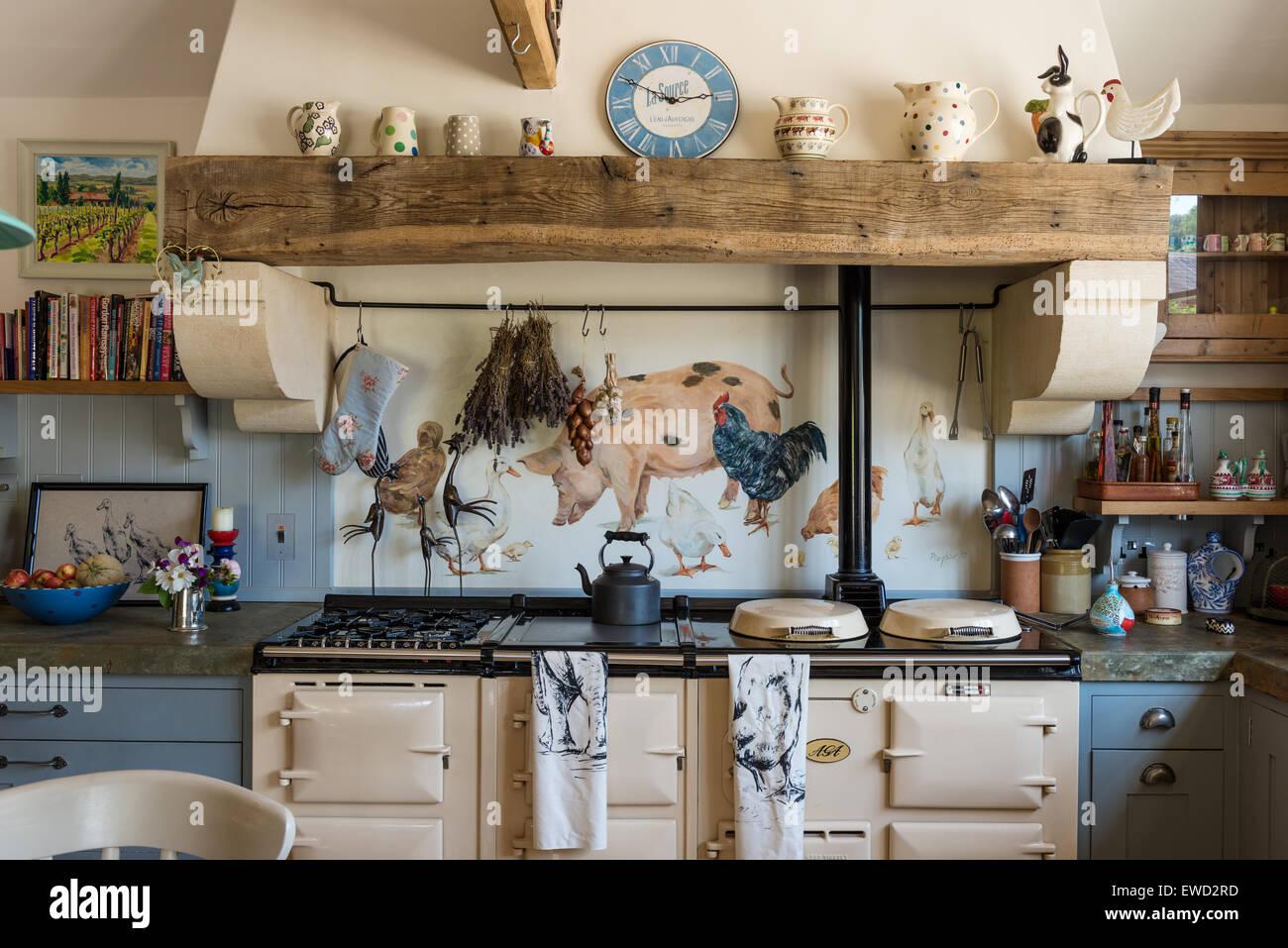 Painted Pig Stockfotos & Painted Pig Bilder - Alamy