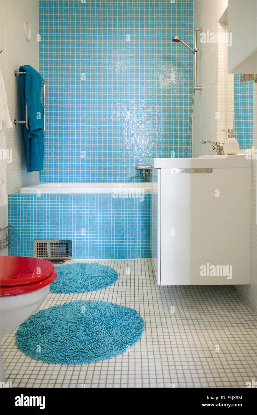 Badezimmer Turkis Mosaik Fliesen Bad Turkis Wohn Design