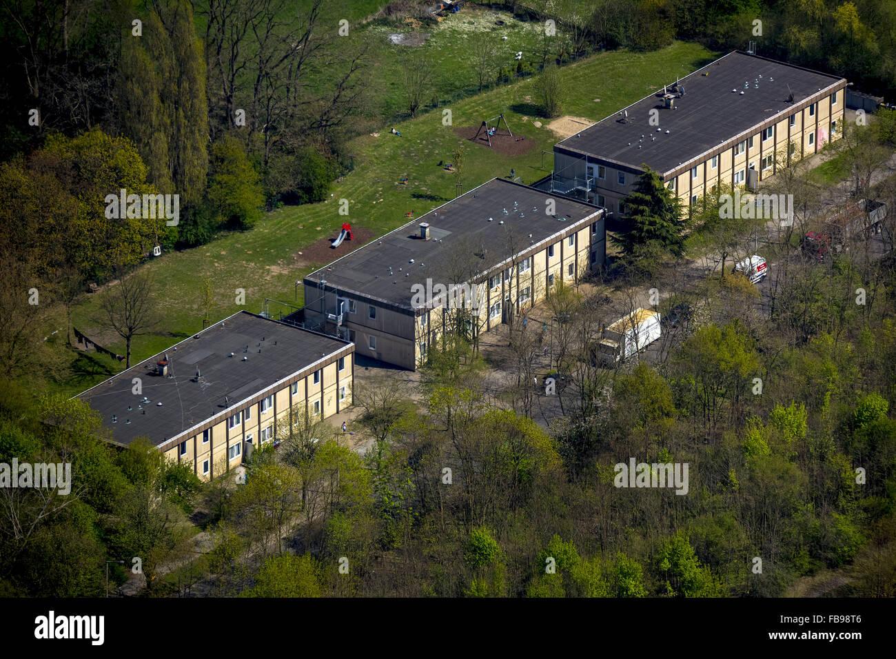 Luftbild Wohnungen fr Asylbewerber Vobuschstrae Baerl