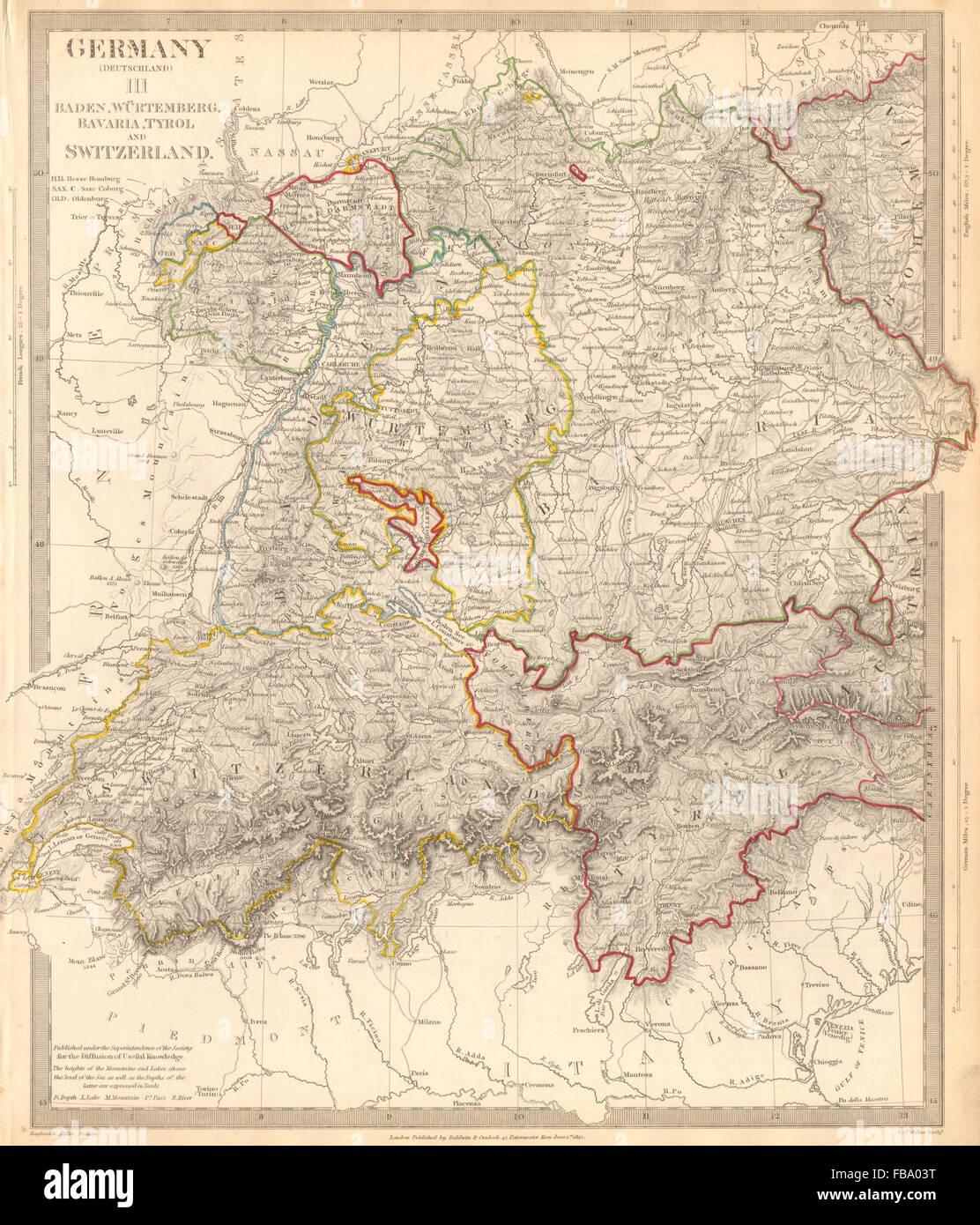 Karte Deutschland österreich.Schweiz Tirol Karte