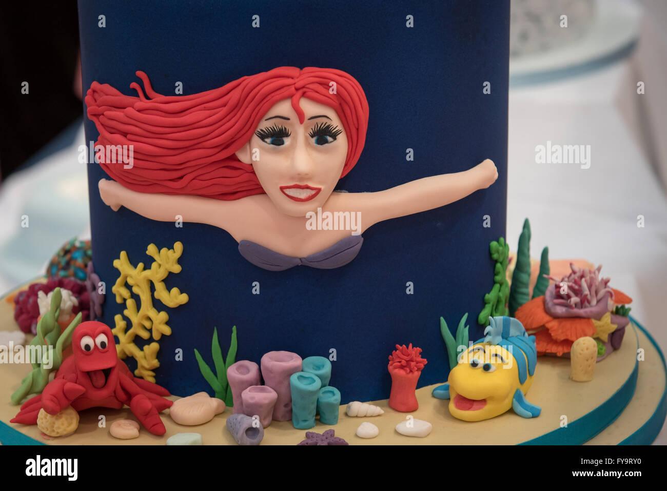Meerjungfrau Prinzessin ArielGeburtstagskuchen Kuchen